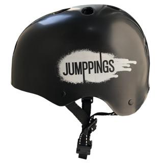 Capacete para skate, bike e patins - Jumppings Preto