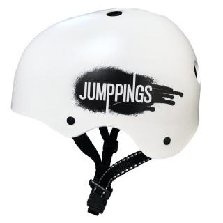 Capacete Esportivo skate, bike e patins - Jumppings Branco