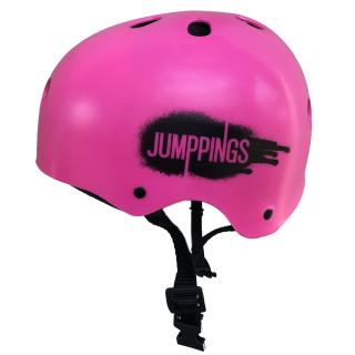 Capacete Esportivo skate, bike e patins - Jumppings Rosa
