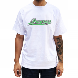 Camiseta Branca PGS  Nome Progress