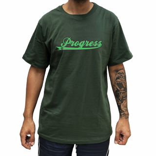 Camiseta Verde PGS  Nome Progress