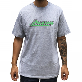 Camiseta Cinza PGS  Nome Progress Skate