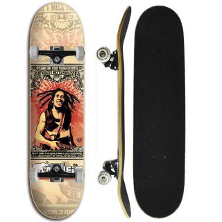 Skate Completo Iniciante Marfim  - Marley