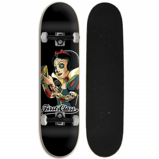 Skate completo Street Iniciante First Class - Neve